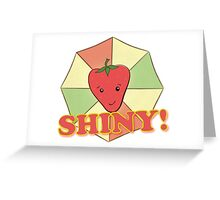Shiny! Greeting Card