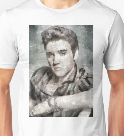 Elvis Presley, Music Legend Unisex T-Shirt