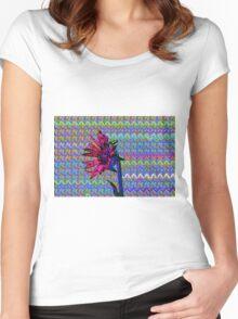 Sunflower Art Women's Fitted Scoop T-Shirt