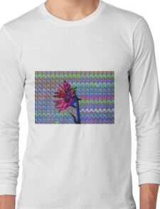 Sunflower Art Long Sleeve T-Shirt