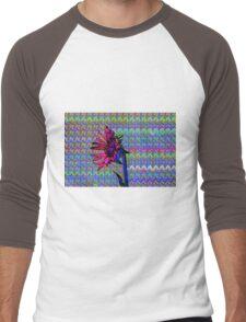 Sunflower Art Men's Baseball ¾ T-Shirt