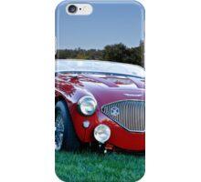 1956 Austin Healey 100M Roadster iPhone Case/Skin