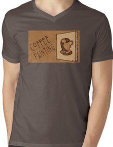 Coffee Painters' Tee Mens V-Neck T-Shirt