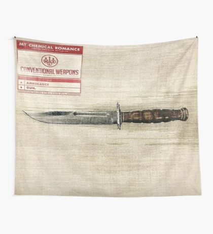 Conventional Weapons Number Two Flag Wall Tapestry