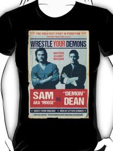 Wrestling Your Demons T-Shirt