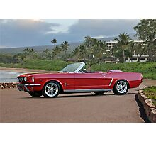 1966 Ford Mustang Convertible Photographic Print