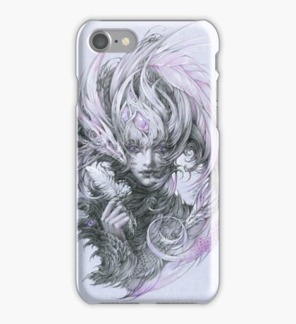 Amethyst dragon fairy lady iPhone Case/Skin