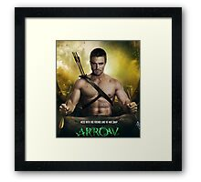 Stephen Amell / Arrow Framed Print
