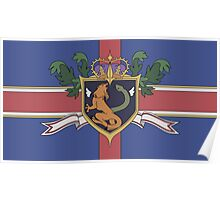 The Holy Empire of Britannia Flag Poster