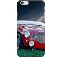 1956 Austin Healey 100M Roadster II iPhone Case/Skin