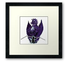 Seymour and his mother Framed Print