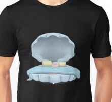 Glitch furniture bed clamshell bed Unisex T-Shirt
