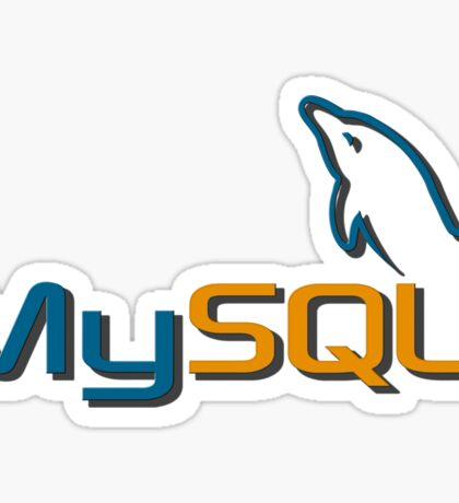 MySQL Sticker
