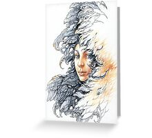 Queen of crows Greeting Card