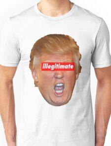 trump illegitimate president Unisex T-Shirt