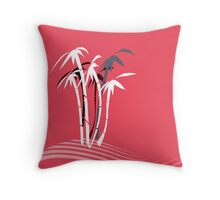 Palm Trees graphic art Throw Pillow