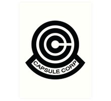 The Capsule Corporation logo Art Print
