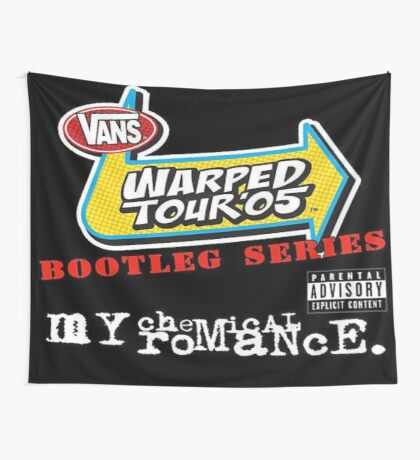 Warped Tour 2005 Bootleg Series Flag Wall Tapestry