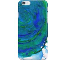 Water Colour Waves and Motion iPhone Case/Skin