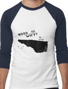 no why Men's Baseball ¾ T-Shirt