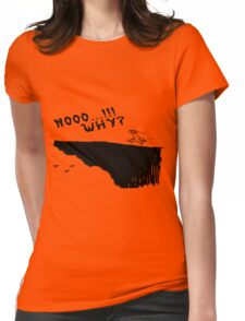 no why Womens Fitted T-Shirt