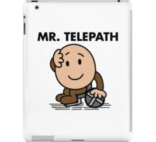 Mr. Telepath iPad Case/Skin