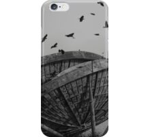 Abandoned Alien Space Craft iPhone Case/Skin