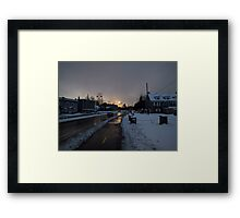Hope In The Cold Darkness Framed Print
