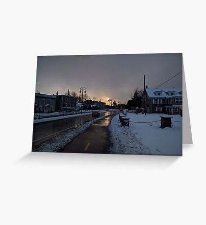 Hope In The Cold Darkness Greeting Card