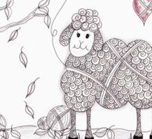 Do Ewe Love Fall Sticker