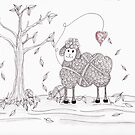 Do Ewe Love Fall by Christianne Gerstner
