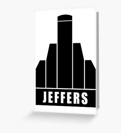 Jeffers Corporation Greeting Card