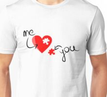 Puzzle heart 2 Unisex T-Shirt