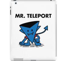 Mr. Teleport iPad Case/Skin