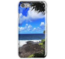 Seven Sacred Pools, Hawaii  iPhone Case/Skin