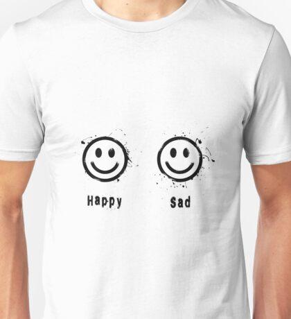 Happy vs Sad Unisex T-Shirt
