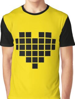 Pixel heart Graphic T-Shirt