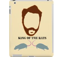 ALL HAIL THE KING (OF THE RATS) iPad Case/Skin