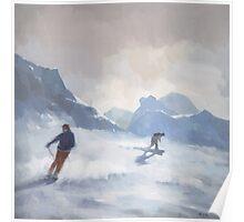 Last Run, Les Arcs Poster