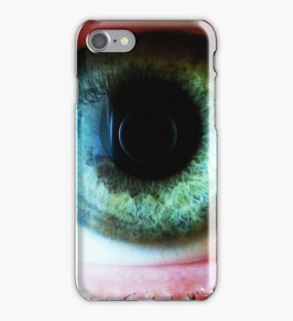 Eye HQ picture taken with macro lens iPhone Case/Skin
