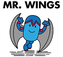 Mr. Wings Photographic Print