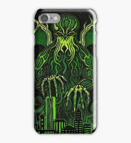 Portland Dreams of Cthulhu iPhone Case/Skin