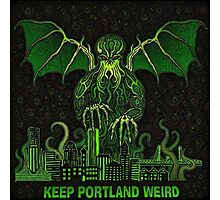 Portland Dreams of Cthulhu Photographic Print