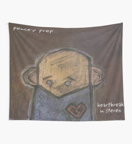 Heartbreak In Stereo Flag Wall Tapestry