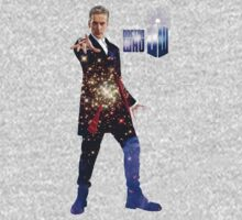 Galactic Peter Capaldi Kids Tee