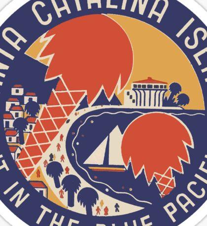 Santa Catalina Island Vintage Travel Decal Sticker