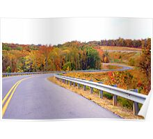 The Roads of Autumn Poster