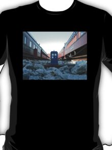 Train Track TARDIS T-Shirt