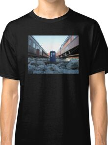 Train Track TARDIS Classic T-Shirt