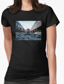 Train Track TARDIS T-Shirt